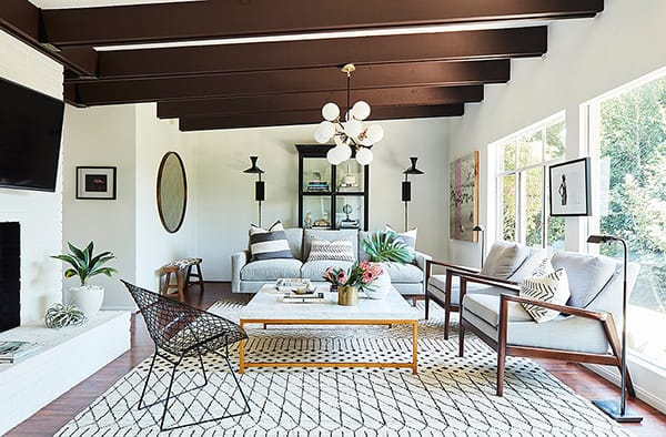 Home Tour: Sophia Bush's Stylish Mid-Century Modern Cottage | HomeandEventStyling.com