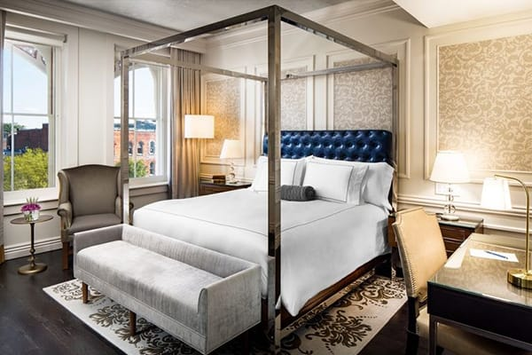 Hotel Tour: The Adelphi Hotel in Saratoga Springs, New York | HomeandEventStyling.com