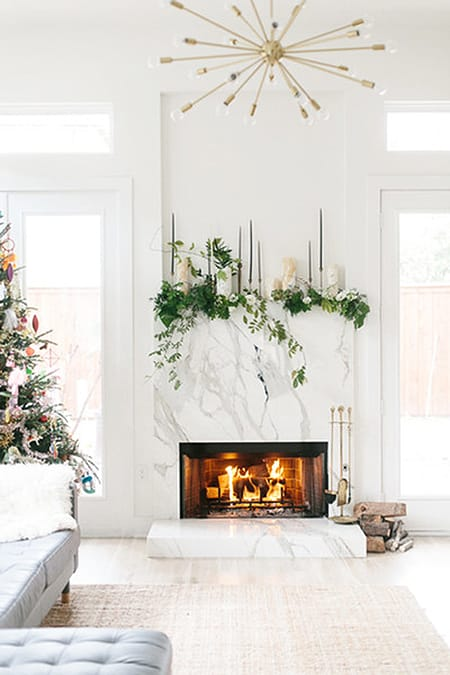 10 Fabulous Stone Fireplaces That Steal the Show | HomeandEventStyling.com