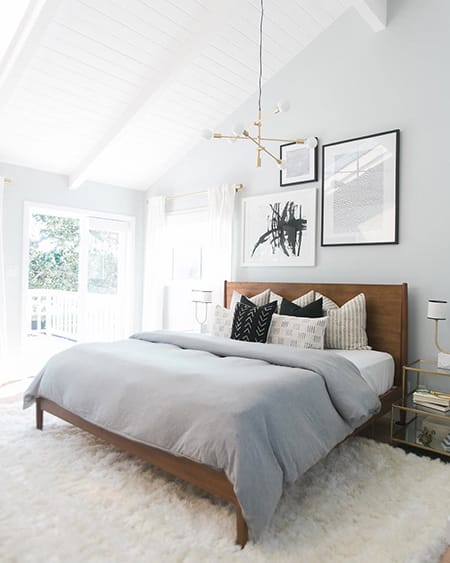 10 Chic Modern and Minimalist Bedroom Ideas | HomeandEventStyling.com