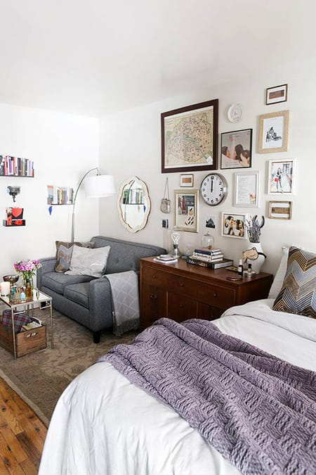 10 Studio Apartments That Prove Small Can Be Stylish | HomeandEventStyling.com