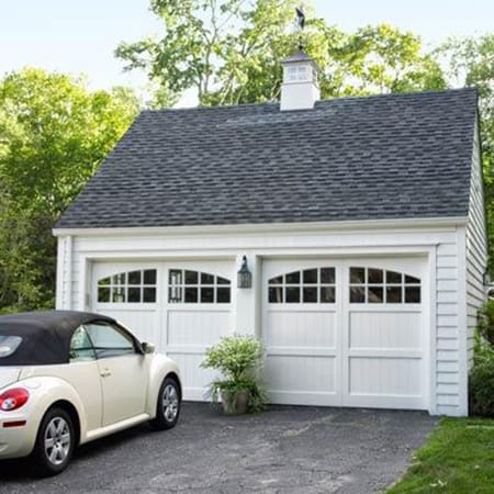 Creating Better Curb Appeal with Charming Garage Doors | HomeandEventStyling.com