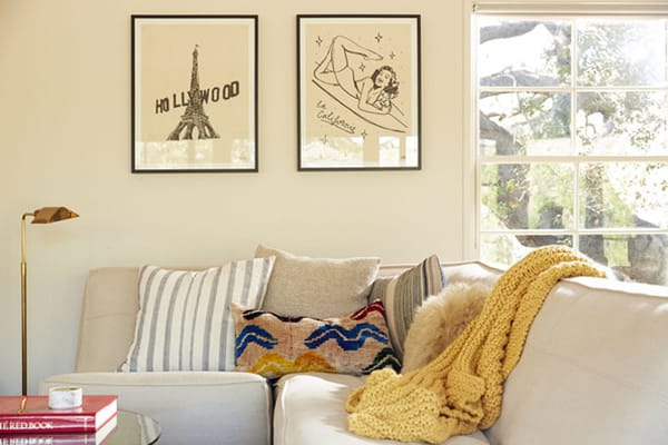 Home Tour: Joy Bryant's Comfortable Modern Home | HomeandEventStyling.com