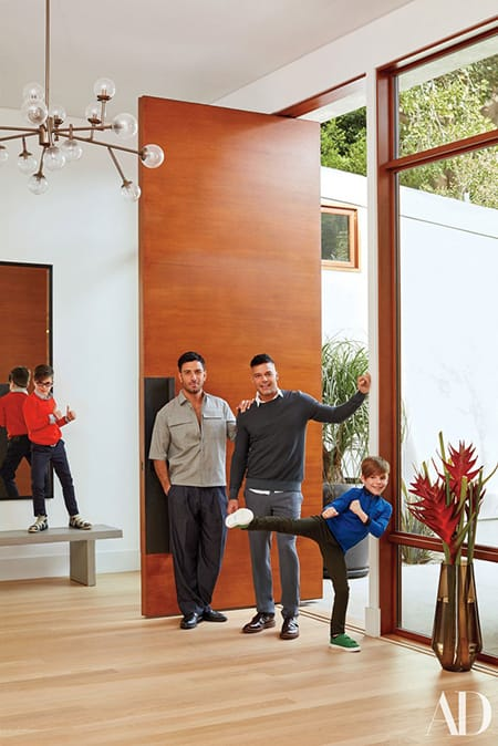 Home Tour: Ricky Martin's Relaxing Modern Home in Beverly Hills | HomeandEventStyling.com