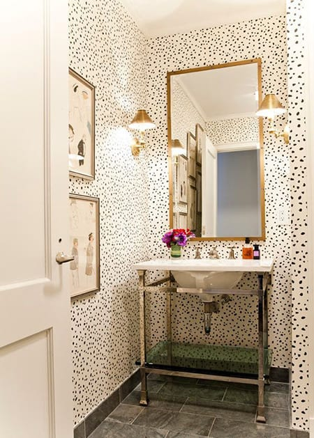 Decorating with Fashionably Chic Black and White Spots | HomeandEventStyling.com
