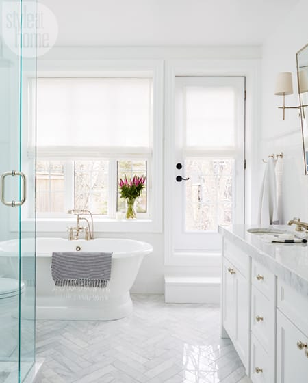 Marble Tile: The Budget-Friendly, Stylish Alternative | HomeandEventStyling.com