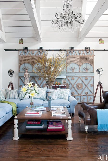 Home Tour: Sharon and Ozzy Osbourne's Eclectic Los Angeles Home | HomeandEventStyling.com