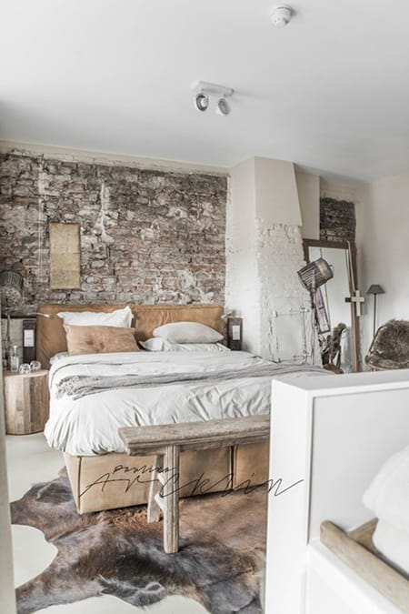 10 Bedrooms with Exposed Brick That Are Full of Character | HomeandEventStyling.com