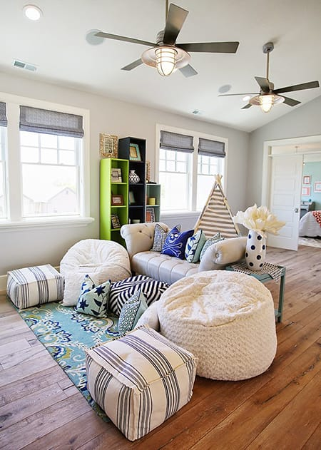 Bonus Room Ideas for the Whole Family | HomeandEventStyling.com