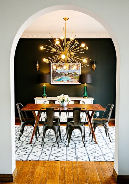 10 Dark and Decadent Dining Rooms | HomeandEventStyling.com