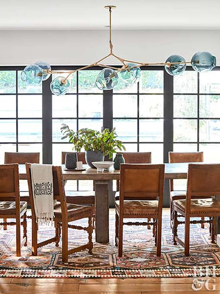 Home Tour: Hilary Duff's Bright and Eclectic LA Home | HomeandEventStyling.com