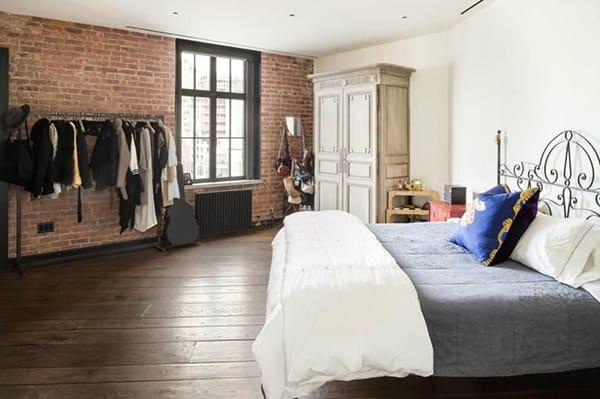 Home Tour: Kirsten Dunst's Cool, Artsy Loft | HomeandEventStyling.com