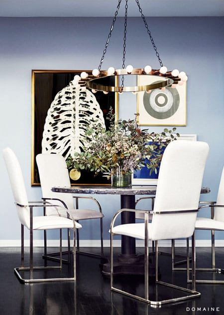 10 Chic and Inspiring Celebrity Dining Rooms | HomeandEventStyling.com