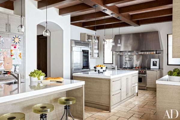 10 Gorgeous and Enviable Celebrity Kitchens | HomeandEventStyling.com