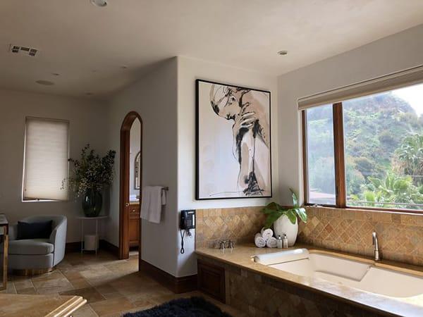 Home Tour: Eva Longoria's Cozy and Contemporary Hollywood Hills Home | HomeandEventStyling.com