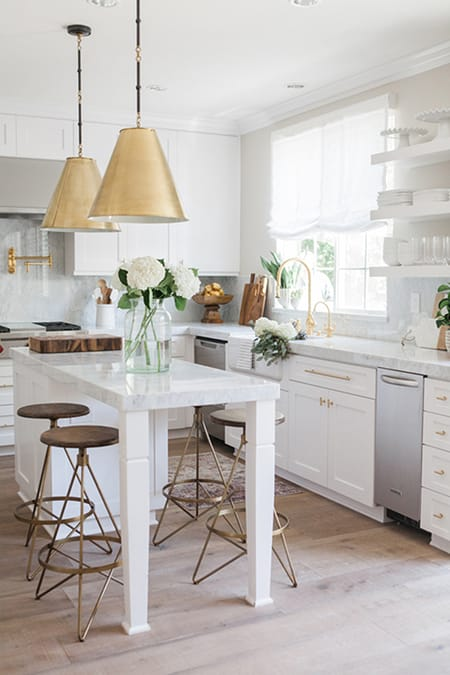 10 Kitchens with an Extended Island for More Space | HomeandEventStyling.com