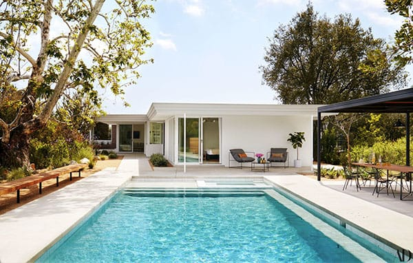 Home Tour: Mandy Moore's Mid-Century Modern Pasadena Retreat | HomeandEventStyling.com