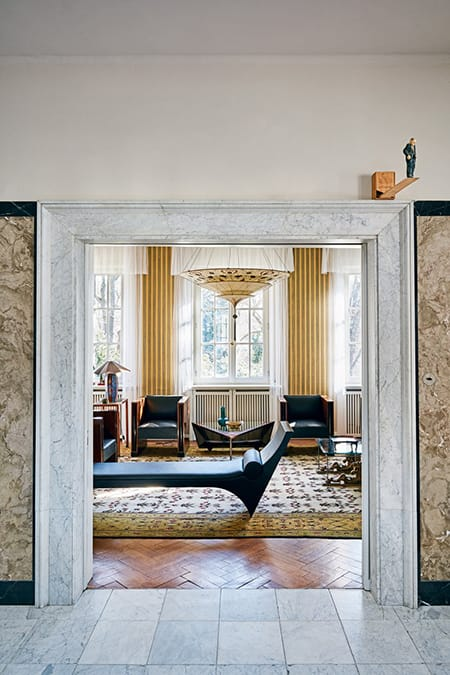 Home Tour: Karl Lagerfeld's Stylish German Villa | HomeandEventStyling.com