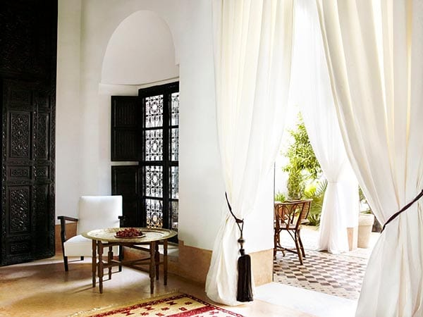 Hotel Tour: The Charming Moroccan L'Hotel Marrakech | HomeandEventStyling.com