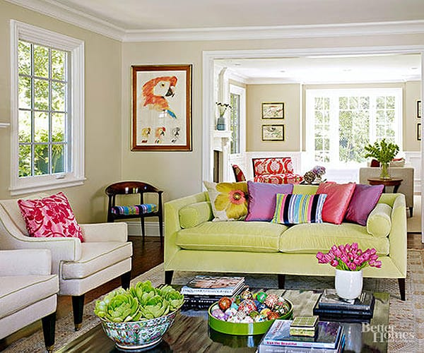 10 Rooms That Are Lovely in Lime Green | HomeandEventStyling.com
