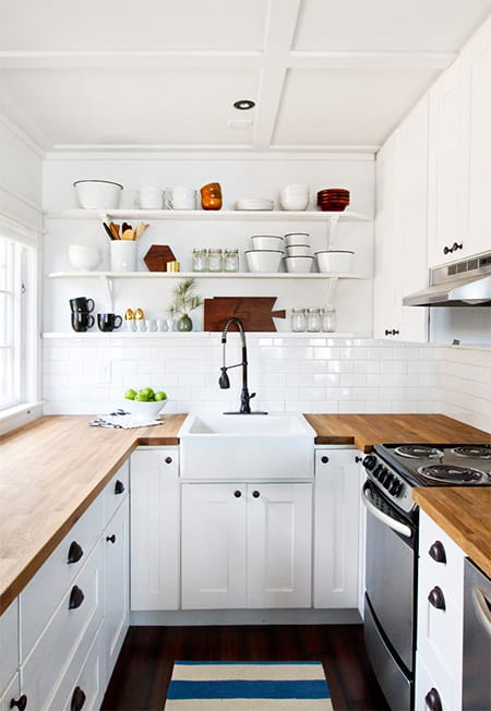 10 Small Kitchens That Are Big On Style | HomeandEventStyling.com