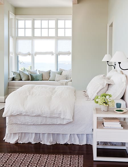 The Simple, Classic Look of White Bedding | HomeandEventStyling.com