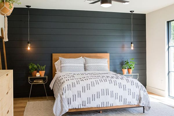 10 Inspiring Ideas for a Bedroom Accent Wall | HomeandEventStyling.com