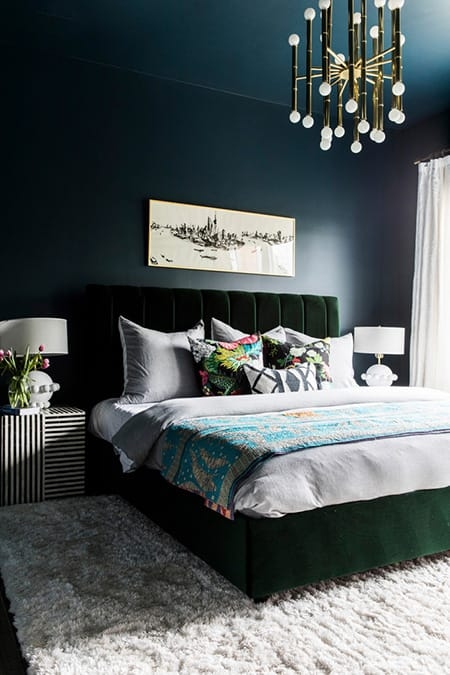 10 Bedrooms That Are Beautiful in Blue | HomeandEventStyling.com