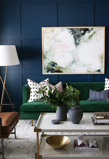The Fresh Look of Blue and Green Decor | HomeandEventStyling.com
