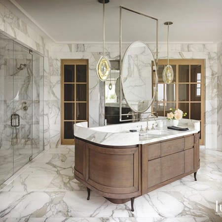 10 Ultra Glamorous and Luxurious Bathrooms | HomeandEventStyling.com