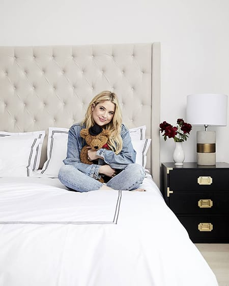 Home Tour: Ashley Benson's Cheerful & Feminine NYC Apartment | HomeandEventStyling.com