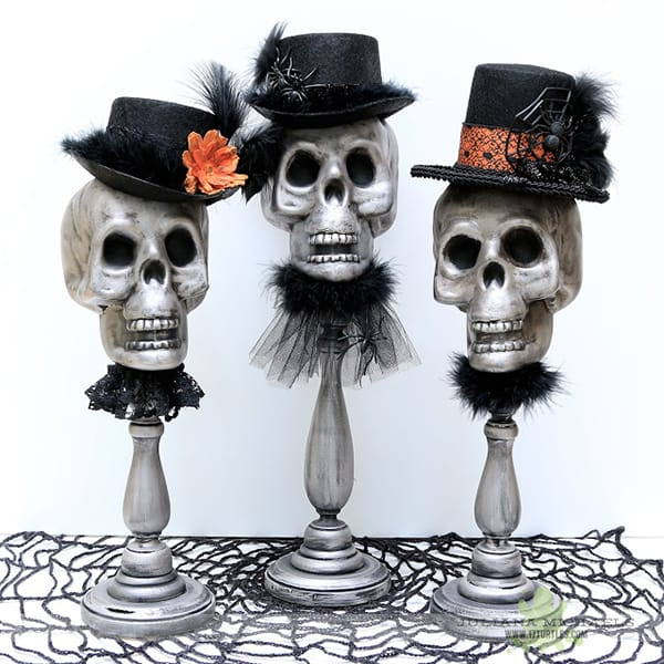 10 Delightfully Spooky DIY Halloween Decor Ideas | HomeandEventStyling.com