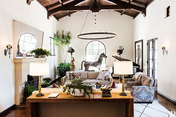 Home Tour: Jesse Tyler Ferguson's Charming 1928 Spanish Colonial | HomeandEventStyling.com