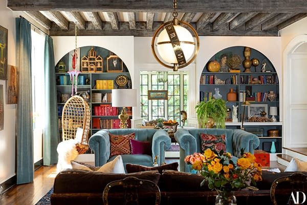 Home Tour: Lily Aldridge's Colorful & Eclectic Nashville Home | HomeandEventStyling.com