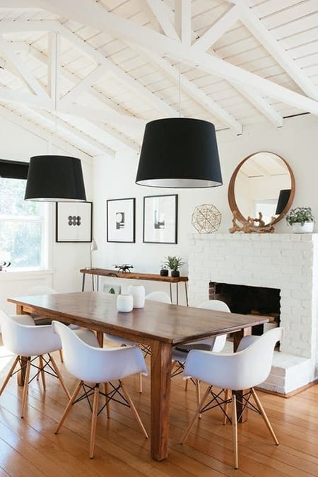 10 Modern Dining Rooms That Are Chic and Elegant | HomeandEventStyling.com