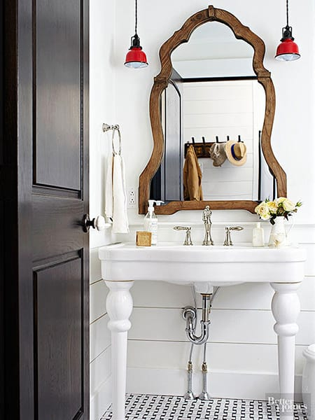 Making a Statement with a Charming Wood Mirror | MeganMorrisBlog.com