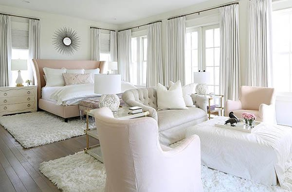 10 Luxurious Bedrooms with Seating Areas | MeganMorrisBlog.com