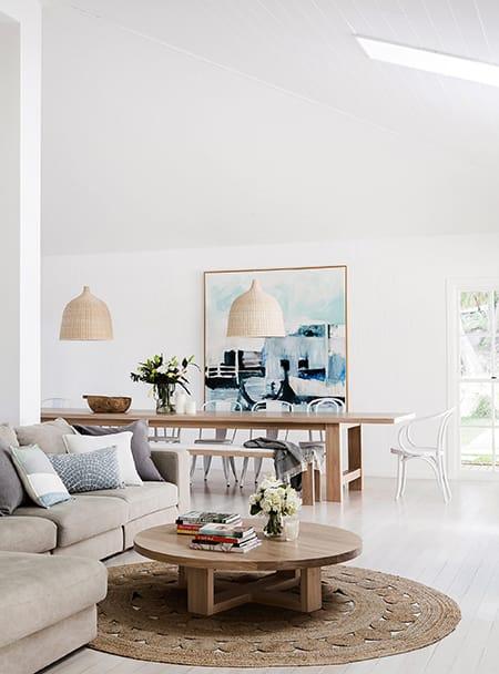 Fresh and Stylish Coastal Living Room Ideas | MeganMorrisBlog.com