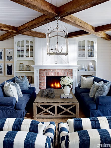 Fresh and Stylish Coastal Living Room Ideas | MeganMorrisBlog.com