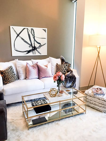 The Chic, Fashionable Look of Leopard Pillows | MeganMorrisBlog.com