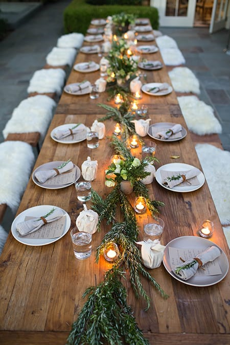Inspiration for a Chic and Elegant Thanksgiving Table | MeganMorrisBlog.com
