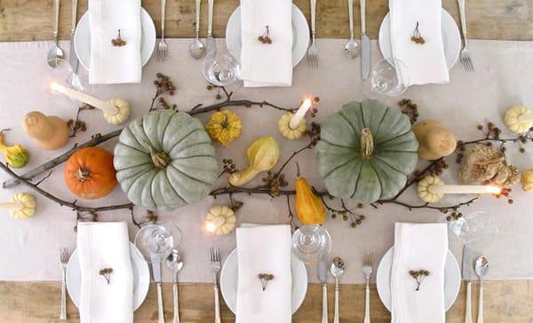 Inspiration for a Chic and Elegant Thanksgiving Table | MeganMorrisBlog.com
