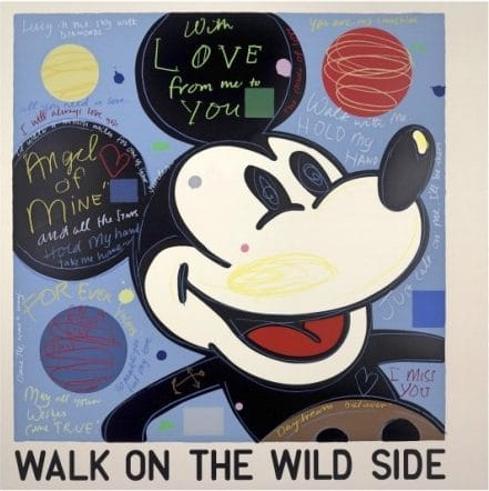 """""""With Love (Mickey)"""" by David Spiller"""