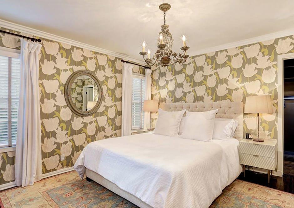 Master Bedroom in Melissa McCarthy's Toluca Lake Home
