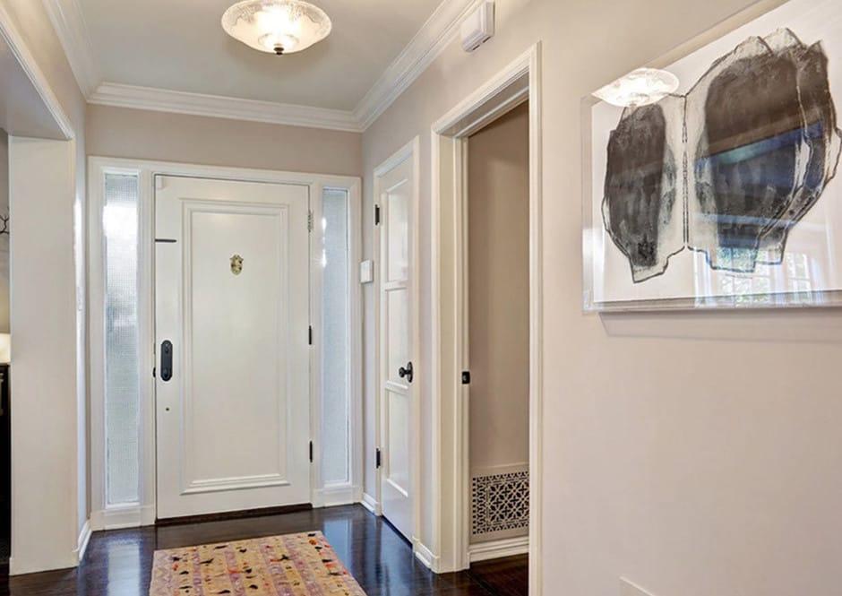 Foyer of Melissa McCarthy's Toluca Lake Home