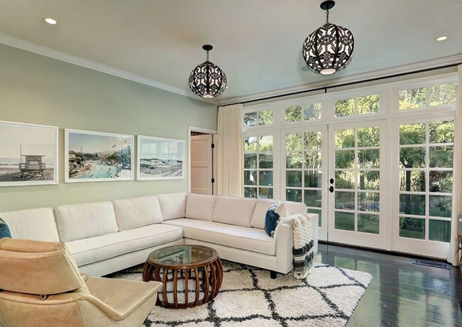 Den in Melissa McCarthy's Toluca Lake Home
