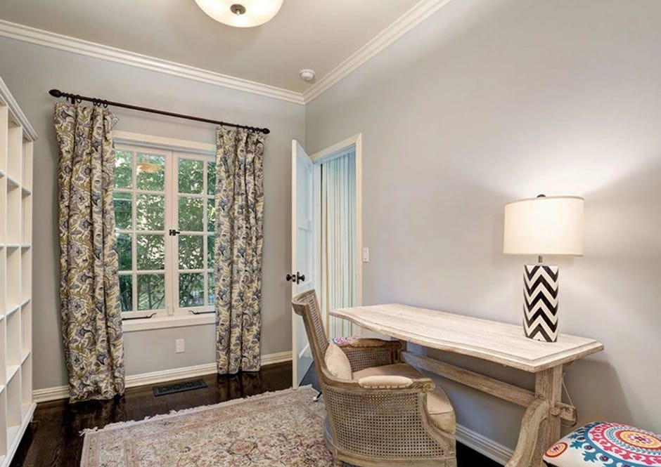 Home Office in Melissa McCarthy's Toluca Lake Home