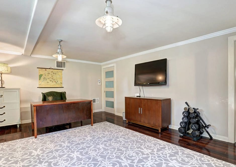 Bonus Room in Melissa McCarthy's Toluca Lake Home