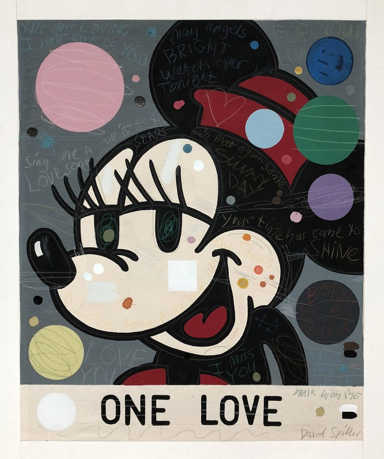 """One Love Minnie)"" by David Spiller"