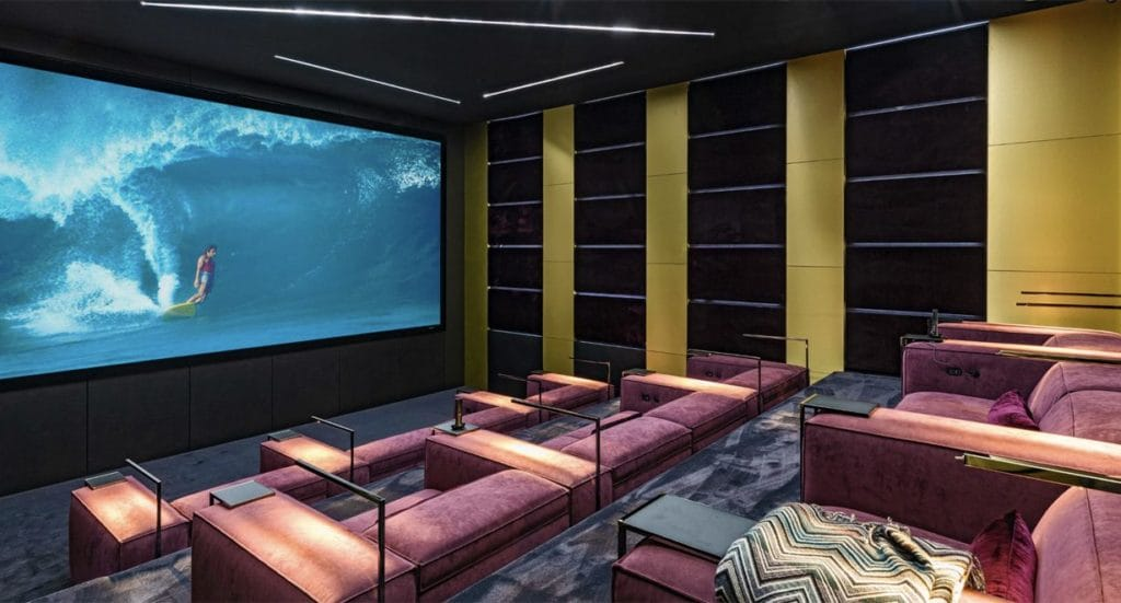 1369 Londonderry home theater